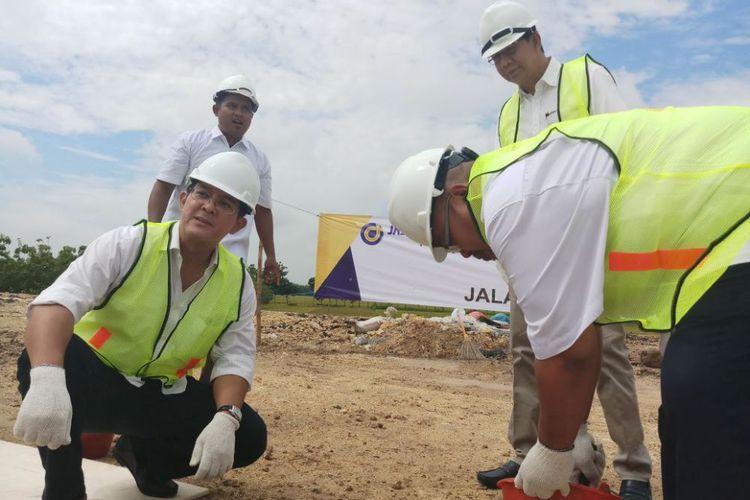 Ground Breaking Rest Area KM 597 Jalan Tol Ngawi – Kertosono