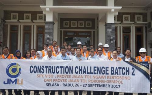Construction Challenge Jasa Marga Learning Institute